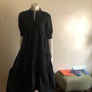 Zara ruffled tiered dress.